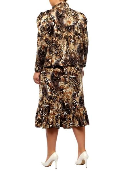 Повседневное платье женское ARTESSA PP19307SNA19 коричневое 68-70