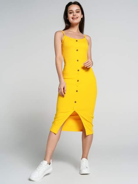 Платье-сарафан женское ТВОЕ 70275 желтое XL
