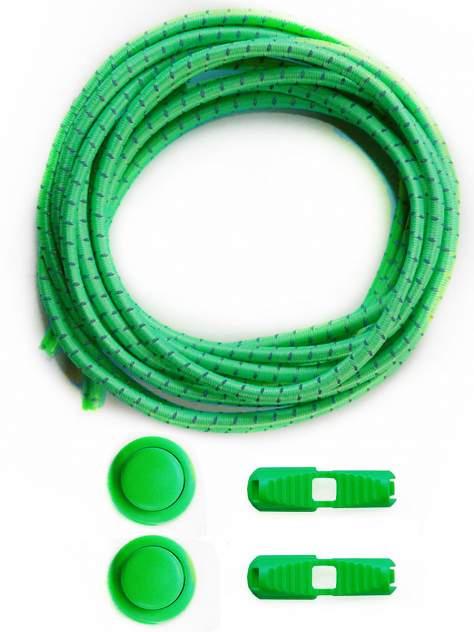 Шнурки для обуви Lumo LM-LL-02 эластичные с фиксатором зеленые