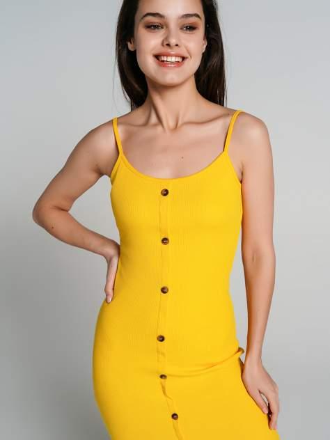 Платье-сарафан женское ТВОЕ 70275 желтое XS