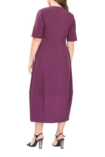 Повседневное платье женское SVESTA R876VIF фиолетовое 52
