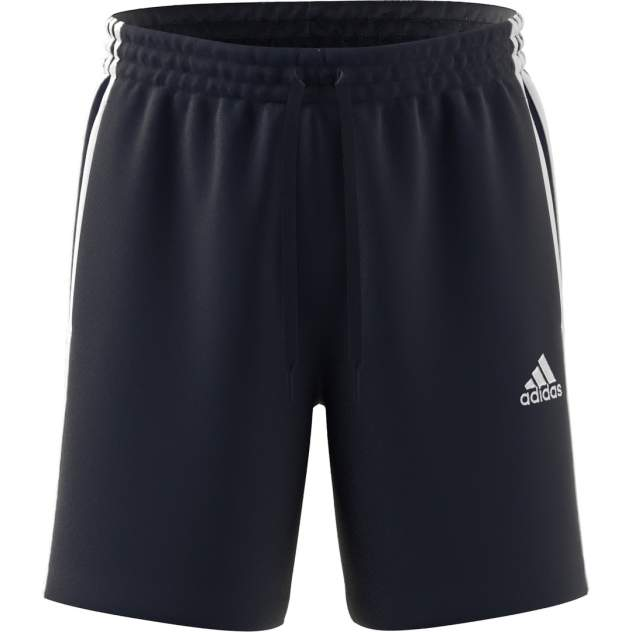Спортивные шорты мужские Adidas Essentials French Terry 3-Stripes Shorts синие M