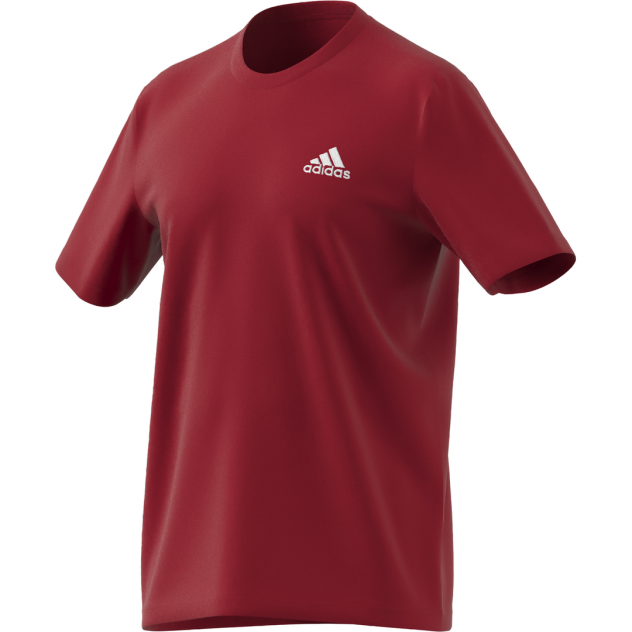 Футболка мужская Adidas Essentials Embroidered Small Logo Tee красная XL INT