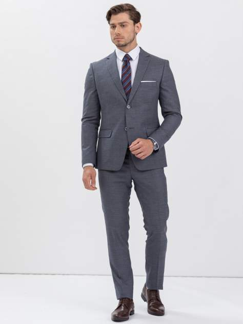 Мужской костюм Marc De Cler Ki24627Grey-188, серый