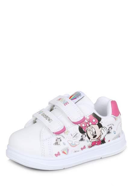 Кеды детские Minnie Mouse, цв. белый р.25