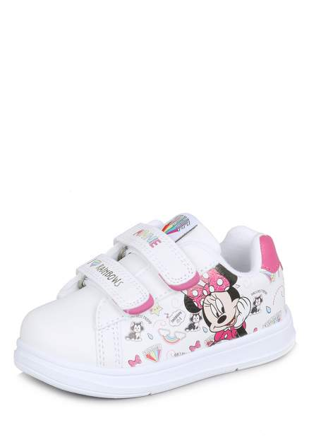 Кеды детские Minnie Mouse, цв. белый р.21
