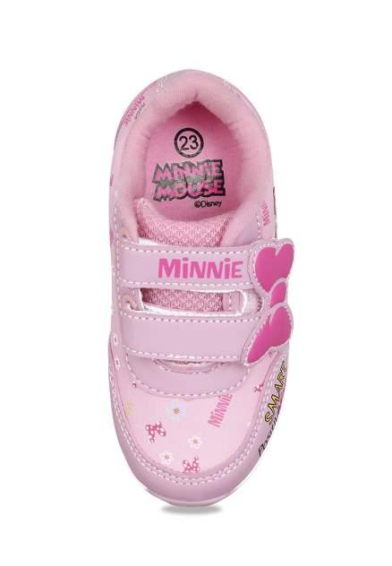 Кроссовки детские Minnie Mouse, цв.розовый р.21