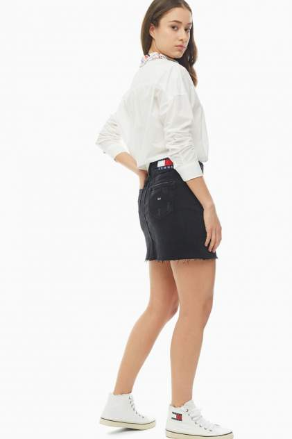Юбка женская Tommy Jeans DW0DW07684 1BZ черная 27 US