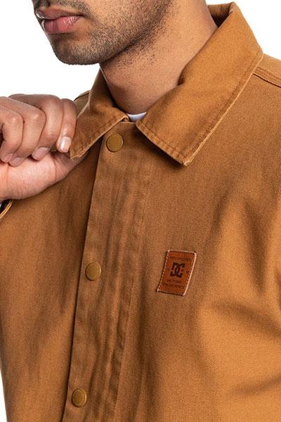 Куртка Alton DC Shoes, коричневый, M