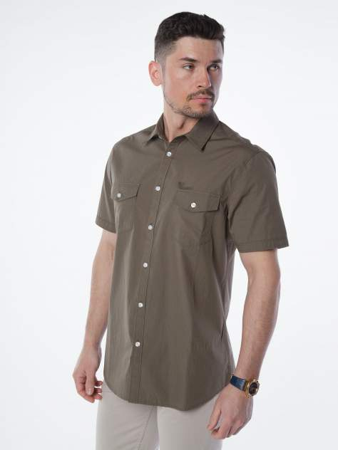 Рубашка мужская Velocity V48-06MS-06 хаки 3XL