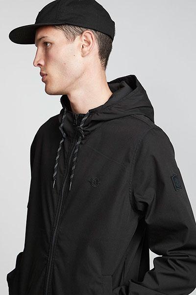 Куртка Alder Light Flint Black, Черный, L