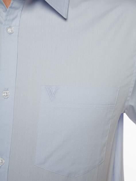 Рубашка мужская Velocity V258-02MS-06 голубая M