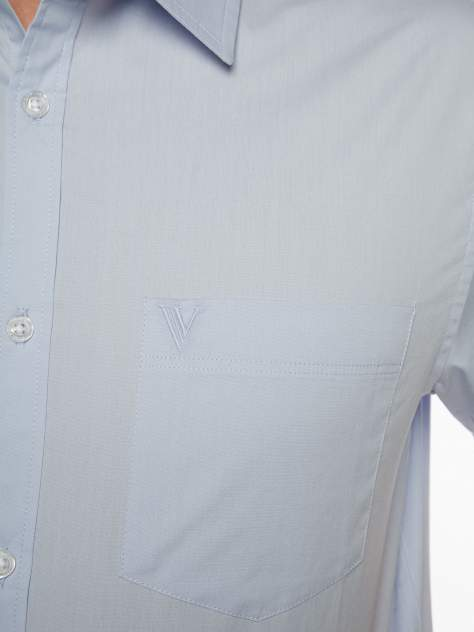 Рубашка мужская Velocity V258-02MS-06 голубая XXL