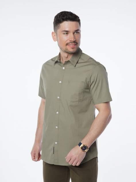 Рубашка мужская Velocity V258-03MS-06 хаки 3XL