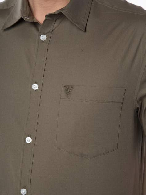 Рубашка мужская Velocity V258-06MS-06 хаки 3XL
