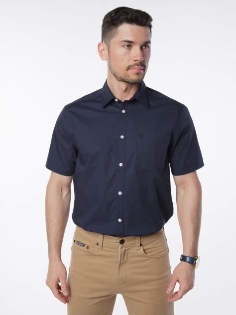 Рубашка мужская Velocity V258-08MS-06 синяя XXL