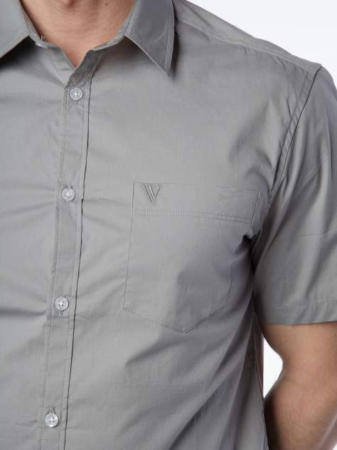 Рубашка мужская Velocity V258-62MS-06 серая XXL