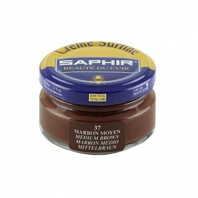 Крем для обуви SAPHIR Creme Surfine средне-коричневый