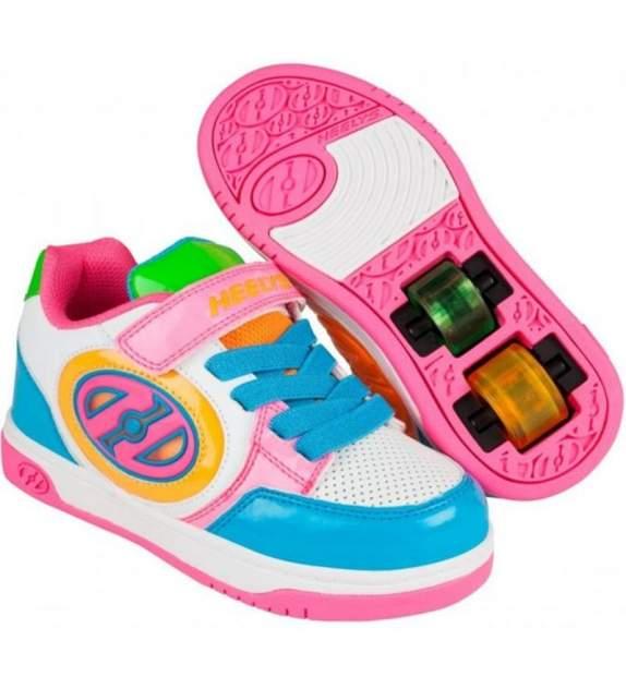Роликовые кроссовки Heelys HE100157 PLUS X2 разноцветные размер 1