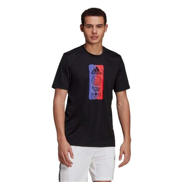 Футболка мужская Adidas Men For The Oceans Icons Tee черная XL INT