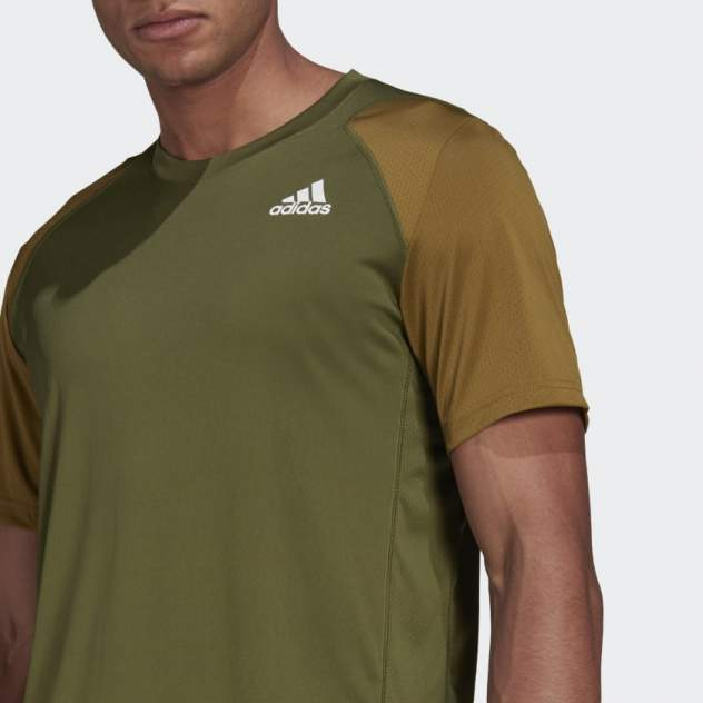 Футболка мужская Adidas Club Tennis T-Shirt зеленая XL INT