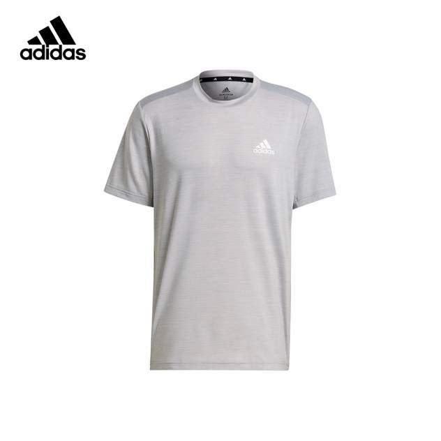 Футболка мужская Adidas Designed 2 Move Heather Elastane серая XL INT