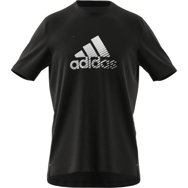 Футболка мужская Adidas Men Activated Tech Tee черная XL INT
