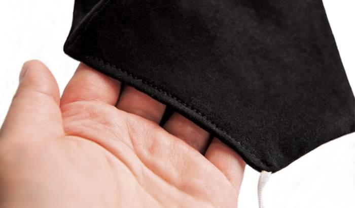 Многоразовая защитная маска Мир Масок черная M 1 шт.