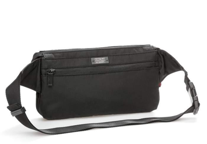Поясная сумка унисекс Hedgren HITC01 Inter-City Black черная