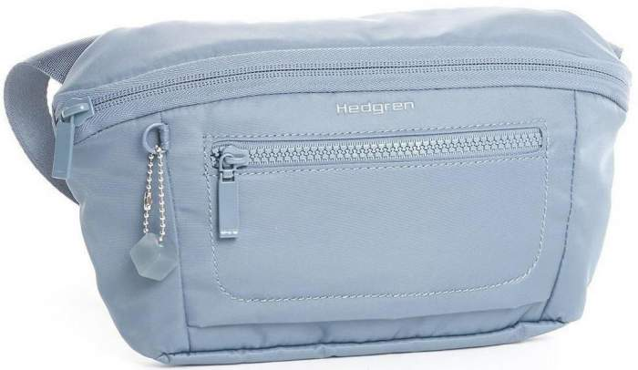 Поясная сумка женская Hedgren HITC10 Inter City Dolphin Blue синяя