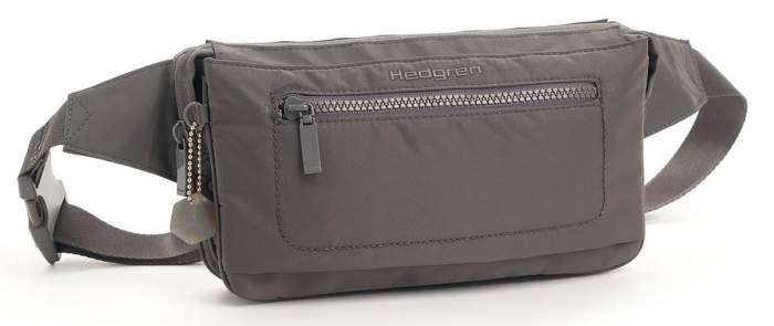 Поясная сумка женская Hedgren HITC01 Inter-City Tornado Grey серая