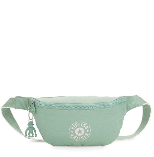 Поясная сумка женская Kipling KI6777 Fresh Mint голубая