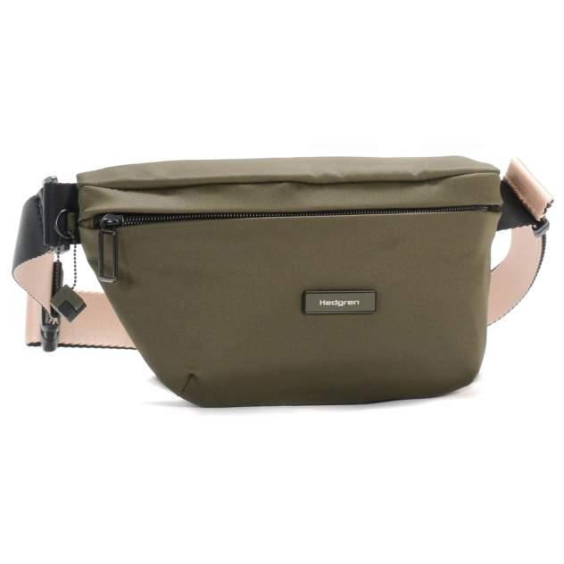 Поясная сумка женская Hedgren HNOV01 Nova Earth Green зеленая
