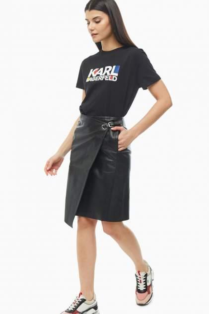 Юбка женская Karl Lagerfeld 201W1905_999 черная 38 FR
