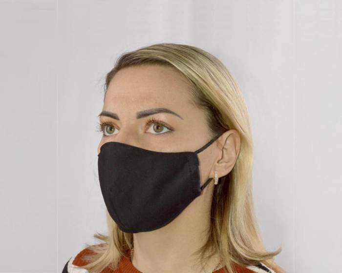 Многоразовая маска женская Sitabella 1001 черная