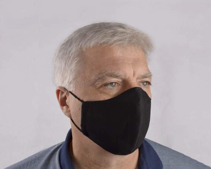 Многоразовая маска мужская Sitabella 1001 черная