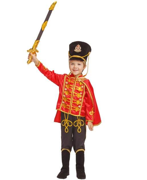 Карнавальный костюм Батик, цв. черный, красный