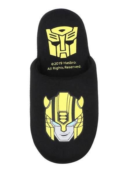 Тапочки детские Transformers, цв. черный р.30