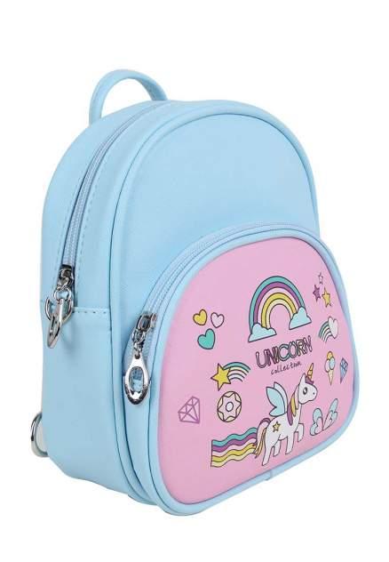 Рюкзак для девочек Daniele Patrici цв. синий розовый