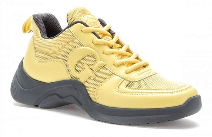 Кроссовки женские GRUNBERG 107582/08-04Z желтые 41 RU