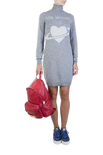 Женское платье MOSCHINO LOVE 83874, серый
