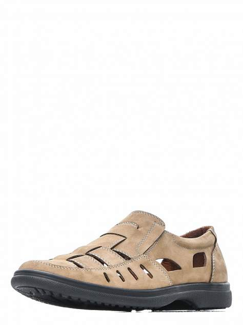 Сандалии мужские quattrocomforto 1-150-301-1 коричневые 42 RU
