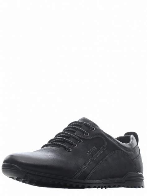Мужские полуботинки ZENDEN 116-01MV-719GS, черный