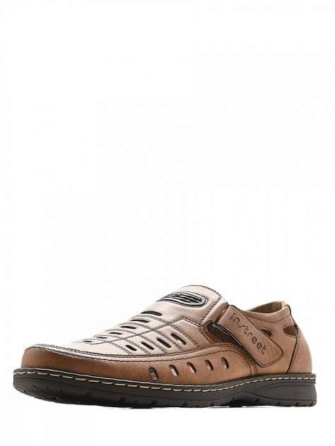 Мужские сандалии INSTREET 116-33MV-051SS, хаки