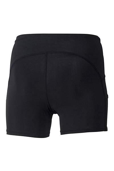 Леггинсы женские Mizuno Core Short Tight, черный, XS