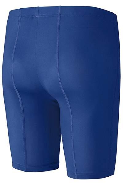 Леггинсы женские Mizuno Women's Trad Mid Tights, синий, L