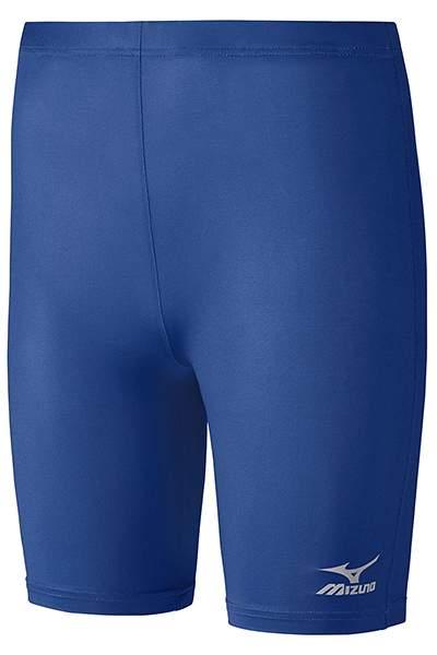 Леггинсы женские Mizuno Women's Trad Mid Tights, синий, S