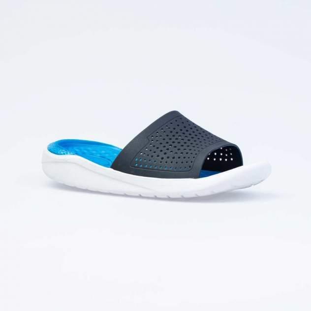 Шлепанцы Котофей 725046-01 синий; голубой р.40