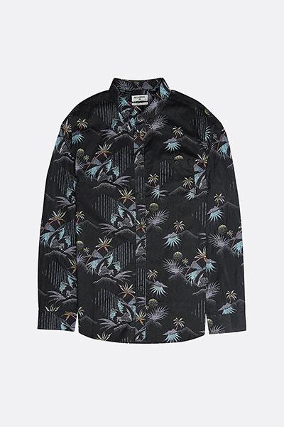 Рубашка SUNDAYS LS 8463, черный, M