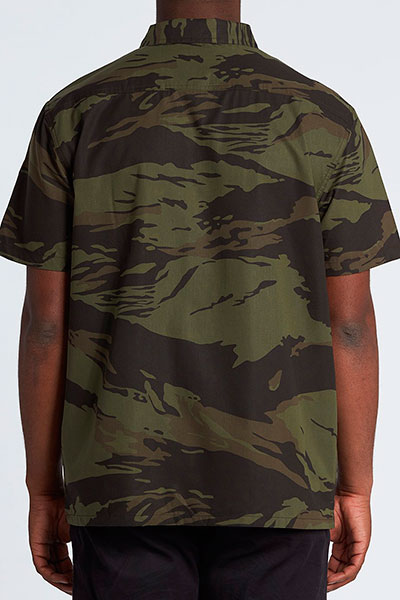 Рубашка Surf Trek Ss Camo, камуфляж, XL